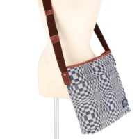 伝統織物ビナクル クロスバッグ / ブルースペクタクル
